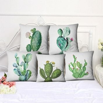 Cactus Design Pillow Covers