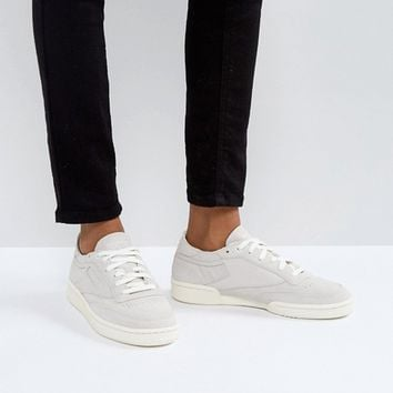 Reebok Classic Club C Decon Sneakers In Chalk at asos.com