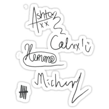 Shop 5 seconds of summer redbubble on wanelo for 5sos room decor ideas