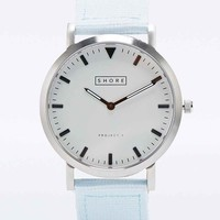 Shore Project Poole Nylon Watch in Blue - Urban Outfitters
