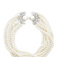 ModCloth Luxe Forever Your Pearl Necklace