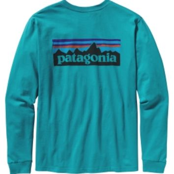 Patagonia Men's P6 Logo Long Sleeve T-Shirt