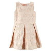 Carter's Floral Jacquard Dress - Girls