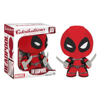Funko Fabrikations - Soft Sculpture - DEADPOOL: BBToyStore.com - Toys, Plush, Trading Cards, Action Figures & Games online retail store shop sale