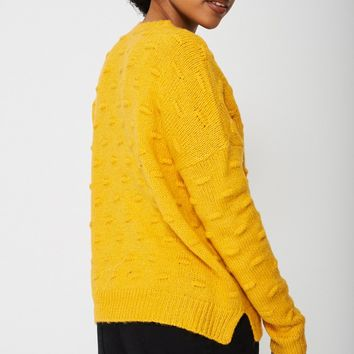 Chunky Textured Jumper Ex-Branded