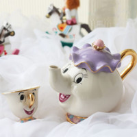 "Limited Edition - ""Mrs Potts & Chip"" Tea Pot & Cup - Beauty And The Beast"