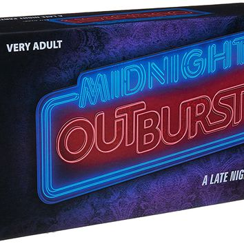 Midnight Outburst - The Adult Party Game from the Creators of Taboo - The Twisted Game of Top 10 Lists