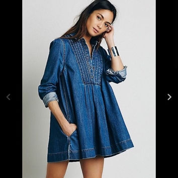 Free People Baby Doll Tunic