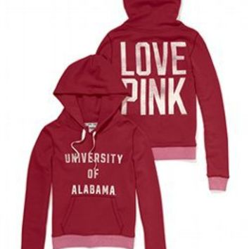 University of Alabama Perfect Pullover Hoodie - PINK - Victoria's Secret