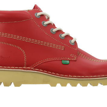Kickers Kick Hi Core Boot - Red