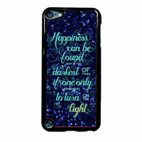 Harry Potter Quotes Light bb9ca83f-3fcd-43b3-b3a5-1a8b4079f743 FOR IPOD TOUCH 5 CASE *02*