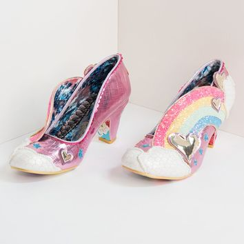 Irregular Choice Summer Of Love Rainbow Heels