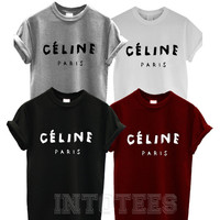 celine paris t shirt top tee tshirt homies rihanna fashion hipster feline tumblr arctic monkeys shirt the arctic monkeys black 02