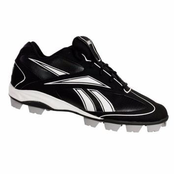 Reebok VERO FL III LOW MRT Mens Baseball Cleats Black & White