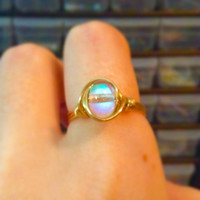 Aurora Ring - unique ring - bohemian jewelry - wire wrapped ring