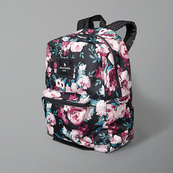 small zip pocket backpack