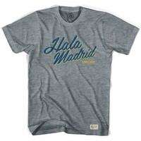 Real Madrid Hala Madrid Soccer T-shirt