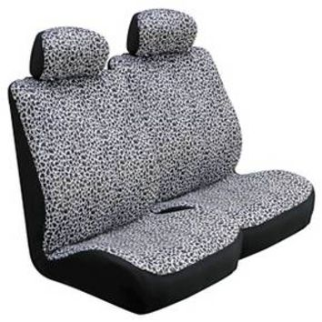 Type S® Snow Leopard Seat & Steering Wheel Cover Set