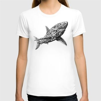 Great White T-shirt by BIOWORKZ