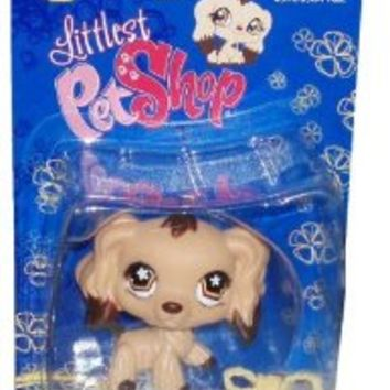 Littlest Pet Shop Cuddliest Figure Cocker Spaniel with Chew Toy