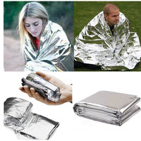3 Survival Blankets Emergency Tent Outdoor Camping Kit Solar Thermal Waterproof