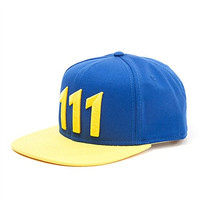 Mycos Fallout 4 Vault Boy Thumbs Up 111 Logo Hat Unisex Snapback Baseball Cap Costume