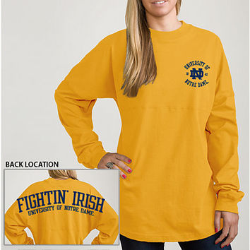 University of Notre Dame Women's Ra Ra Long Sleeve T-Shirt
