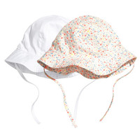 H&M 2-pack Sun Hats $12.99