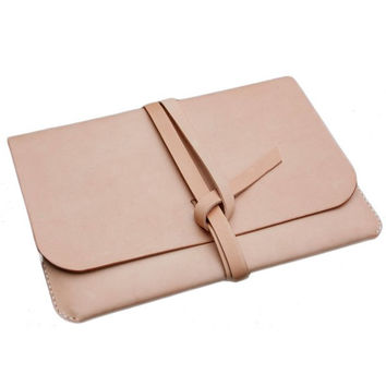 Handmade iPad Leather Folio