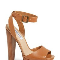 Steve Madden 'Gingeer' Leather Platform Sandal (Women) | Nordstrom
