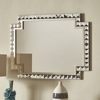 Zuni Champagne Gold Wall Mirror by INSPIRE Q | Overstock.com Shopping - The Best Deals on Mirrors