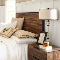 Pierce II Gray Washed Headboard