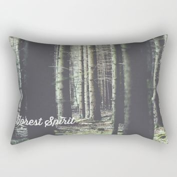 Forest feelings Rectangular Pillow by HappyMelvin | Society6