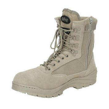 """9"""" Tactical Boots with Zipper"""