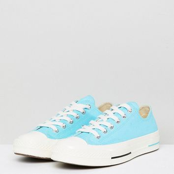 Converse Chuck Taylor All Star 70 Low Sneakers In Blue at asos.com