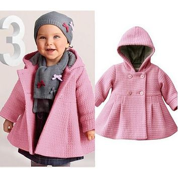 Fashion Baby Outerwear Baby Jacket Coat Outerwear Jacket Jacquard Cotton Lining Baby