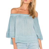 YFB CLOTHING Perris Top in Powder Blue | REVOLVE