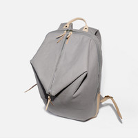 Vintage Men Casual Canvas Leather Backpack ( L01)