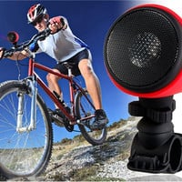 MA-861 Multi-functional Sports Bluetooth 3.0 Bicycle Speaker Bike Speaker MP3 Player with Microphone & Bike Holder (Red)