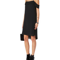 T by Alexander Wang Pleated Shoulder Dress - INTERMIX®