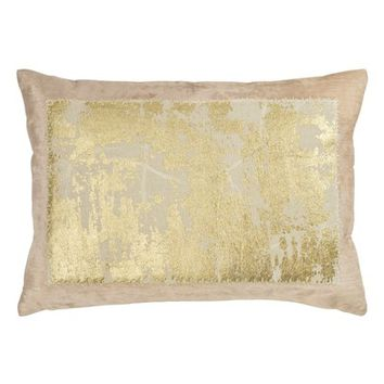Michael Aram Distressed Metallic Accent Pillow | Nordstrom