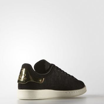 adidas Stan Smith Metal Shoes - Black  c29468948