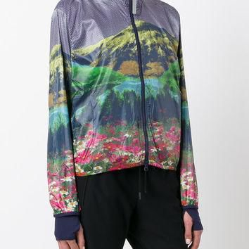 Adidas By Stella Mccartney Run Mountain Print Jacket - Farfetch