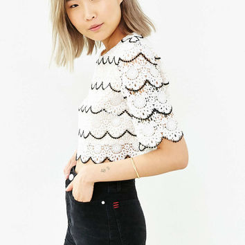 Sister Jane Falcon Wing Cropped Top - Urban Outfitters