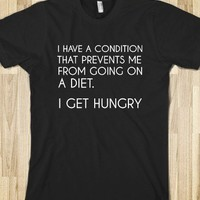 I GET HUNGRY