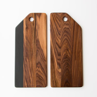 Walnut Service Board - Handmade in Quebec - Chic & Basta