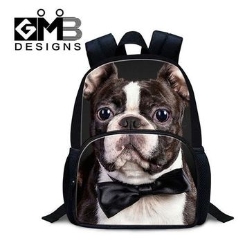 Girls bookbag Animal Felt Kindergarten Backpacks Dog Mini School Bags for Little Girls Cute Boys Bookbags Personalized Preschool Bags for kids AT_52_3