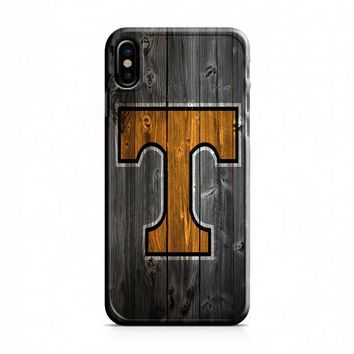 Tennessee Vols (wood) iPhone X Case