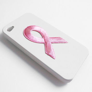 Breast Cancer Ribbon iPhone Case