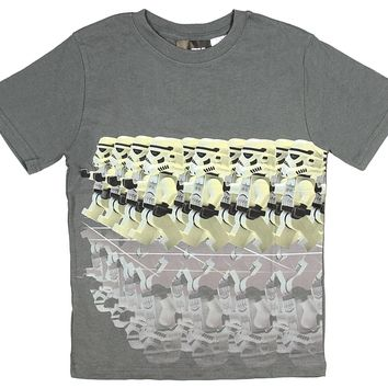 Lego Star Wars Boys' Stormtroopers Marching With Reflection T-Shirt